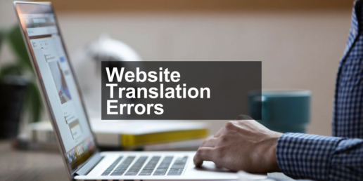 website translation errors