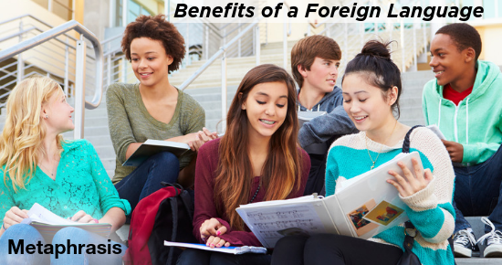 foreign language benefits